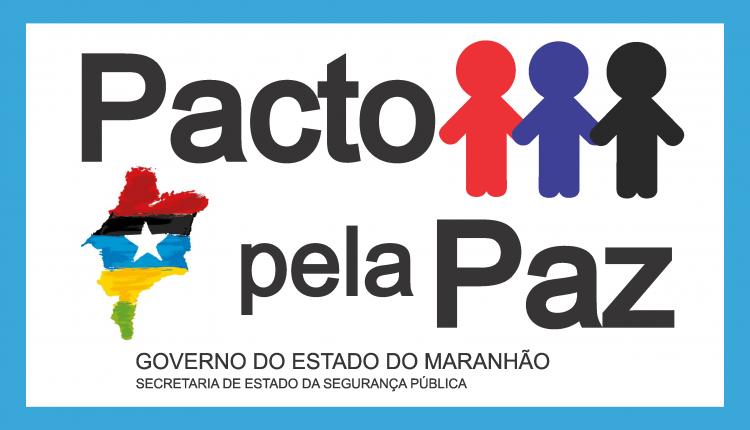 Resultado de imagem para logotipo do programa pacto pela paz no maranhão