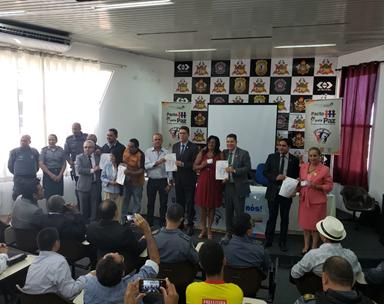 Posse dos Conselhos Comunitários pela Paz da Região Metropolitana